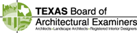 Logo for Texas Board of Architectural Examiners